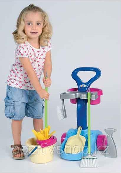 Игровой набор для уборки Полесье 36575 - фото 1