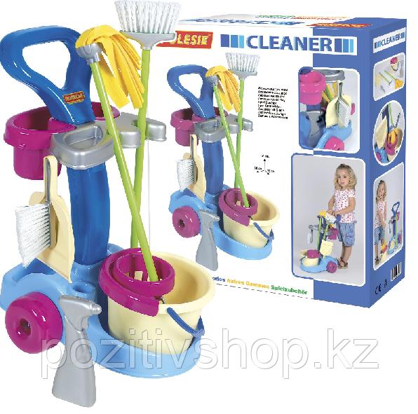 Игровой набор для уборки Полесье 36575 - фото 3