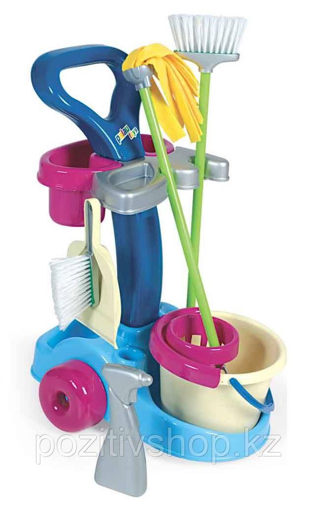 Игровой набор для уборки Полесье 36575 - фото 2