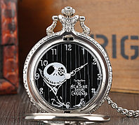 Карманные кварцевые часы на цепочке. Черепок! Kaspi RED. Рассрочка.