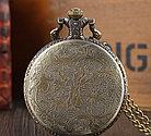 Карманные кварцевые часы на цепочке. Черепок! Kaspi RED. Рассрочка., фото 4