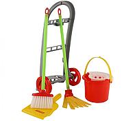 Игровой набор для уборки Полесье 42910