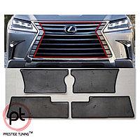 Защитная маскитная сетка под решетку на Lexus LX570 2016-21