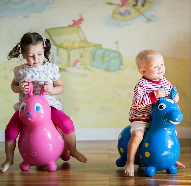 Детские игрушки прыгуны