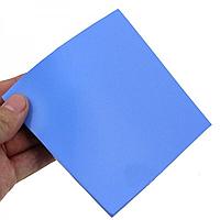 Термопрокладка 100х100х1 мм синяя