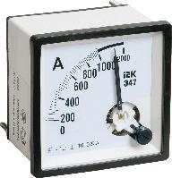 Амперметр Э47 50А кл. точн. 1,5 72х72мм IEK