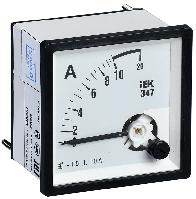 Амперметр Э47 10А кл. точн. 1,5 72х72мм