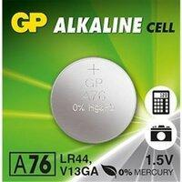 Батарейка часовая GP  LR44 (А76)   AG13