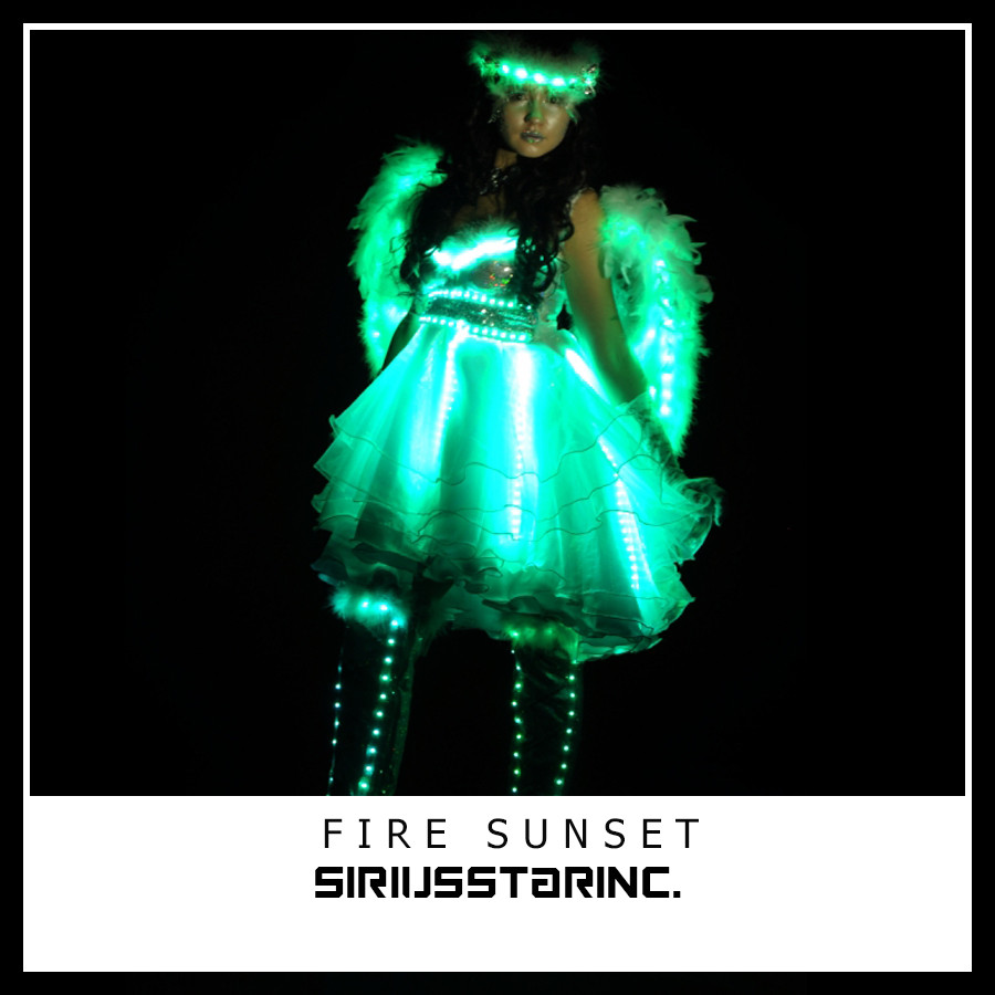 Шоу Проект FIRE SUNSET(Angels)