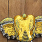 """Панно настенное """"Голова слона"""" 27х12х30 см, фото 2"""