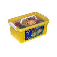 Набор для лепки JOVI 'Зоопарк', 5 цветов x 50 г, аксессуары, пластиковый контейнер