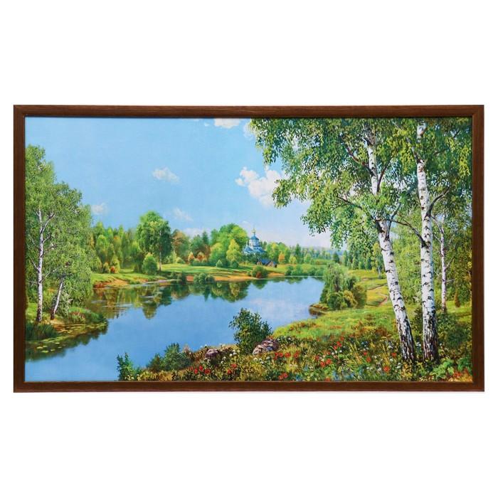 """Картина """"Лесной пейзаж"""" 104х64 см"""
