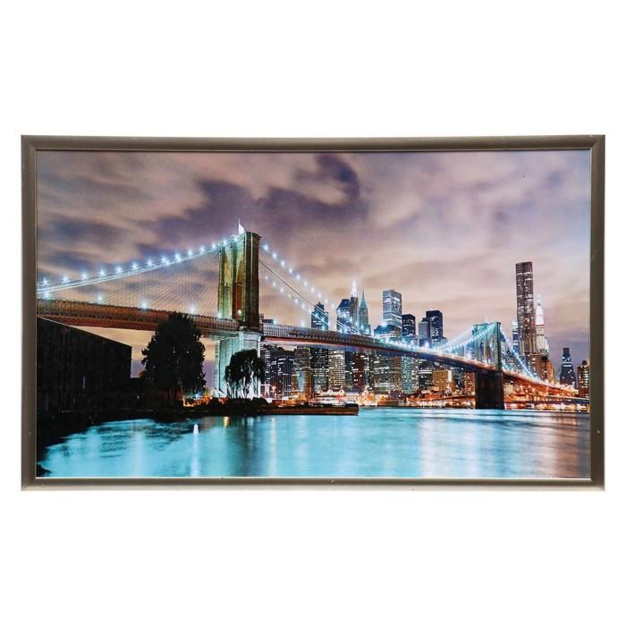 """Картина """"Мост мегаполиса"""" 104х64 см"""