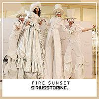Шоу Проект FIRE SUNSET(Ходулисты)