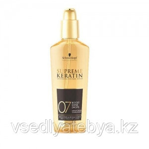 Легкие капли (масло) придающие блеск Supreme Keratin Boost Shine Drops 75 мл