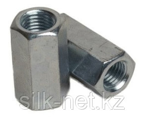 Муфта соединительная для шпилек (din 6334 м16х24х48)