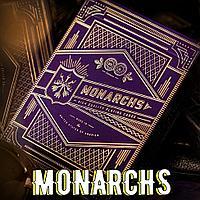 Карты Monarch purple (Theory11)