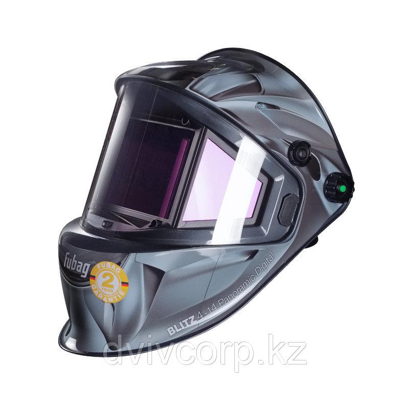FUBAG Маска сварщика «Хамелеон» с регулирующимся фильтром BLITZ 4-14 Panoramic Digital