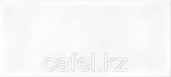 Кафель | Плитка настенная 20х44 Пудра | Pudra белый рельеф