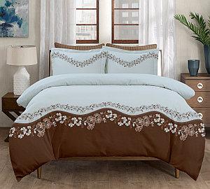 """Комплект постельного белья """"Азалия голубая"""" 1,5-х спальный"""