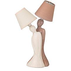 Светильник с абажуром диаметр=12 см высота=41 сме-14, 139-130