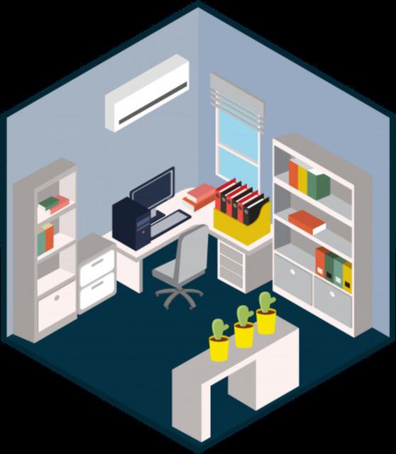 Комплект оборудования для помещения до 50 квадратных метров (TRASSIR)