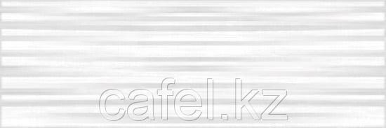 Кафель | Плитка настенная 25х75 Санторини | Santorini белый рельеф