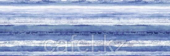 Кафель   Плитка настенная 25х75 Санторини   Santorini голубой вставка