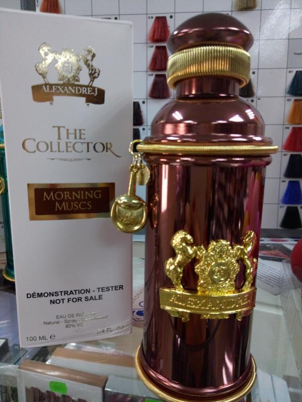 Alexandre.J The Collector Morning Muscs 100 ml. - Парфюмированная вода - Унисекс - ( TESTER )