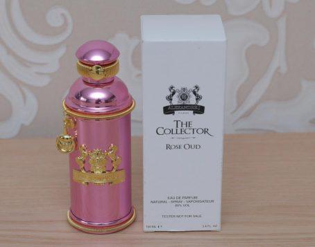 Alexandre.J The Collector Rose Oud 100 ml. - Парфюмированная вода - Унисекс - ( TESTER )