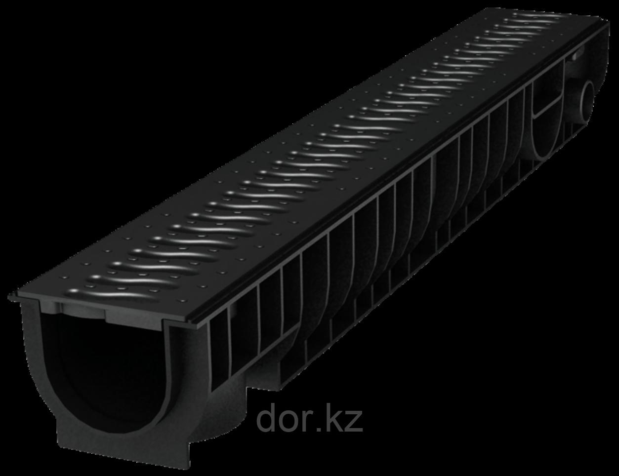 Лоток Ecoteck STANDART 100.95 h99 с решеткой пластиковой, кл.А15