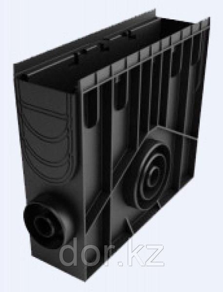 Пескоуловитель 100 h435 пластиковый в сборе (черный)