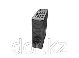 Пескоуловитель 100 h435 пластиковый в сборе с решеткой 100 MEDIUM В-125