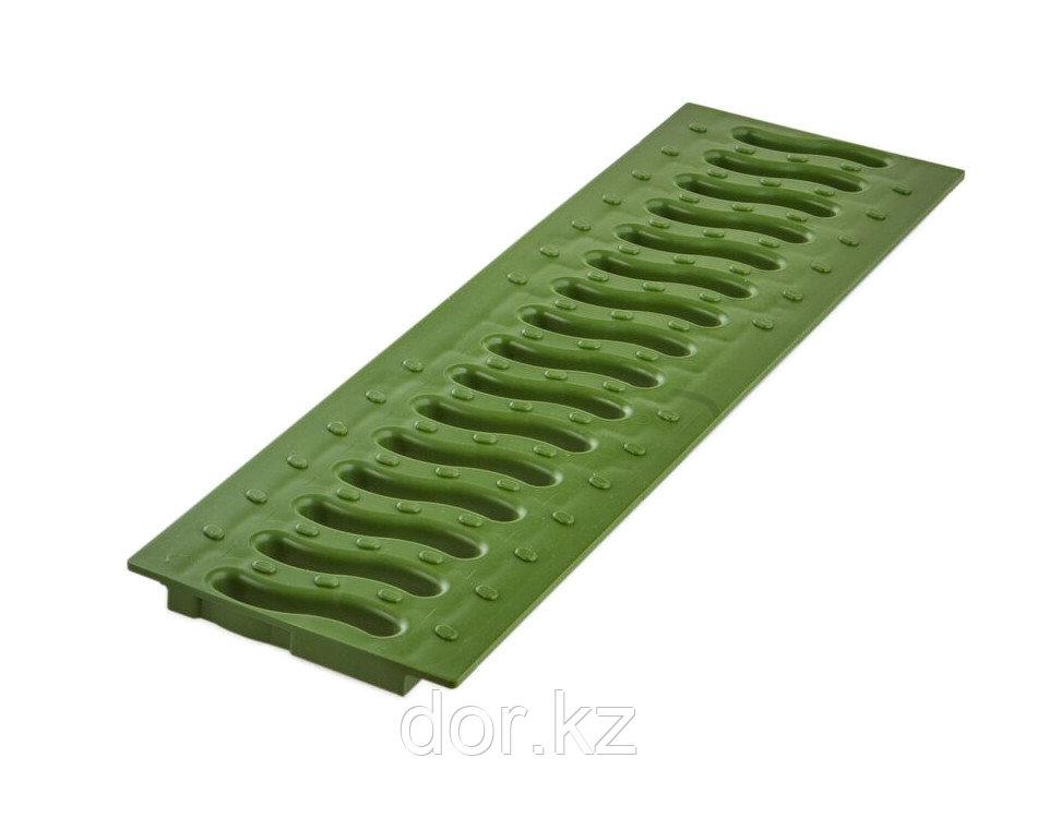 Решетка 100 пластиковая Волна (зеленый папоротник)
