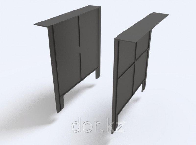 Перегородка-сифон к дождеприёмнику 300х300 (черный)