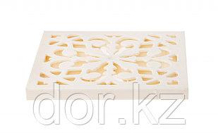 Решётка пластиковая декоративная к дождеприемнику (слоновая кость)