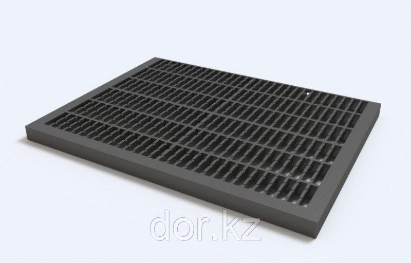 Придверная решётка пластиковая (черный)