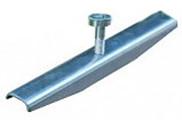Крепеж 100 решетки стальной с отверстиями