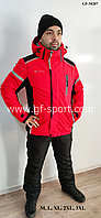 Мужской горнолыжный костюм Columbia (красный)