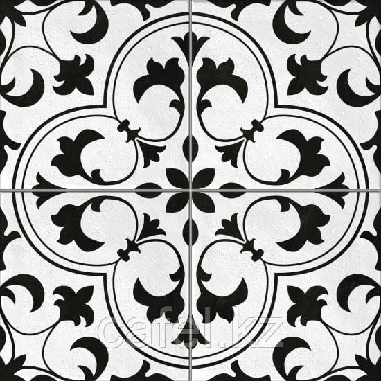 Керамогранит 42х42 - Севилья    Seville белый с узорами