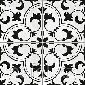 Керамогранит 42х42 - Севилья  | Seville белый с узорами