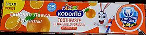 Детская зубная паста Апельсиновая