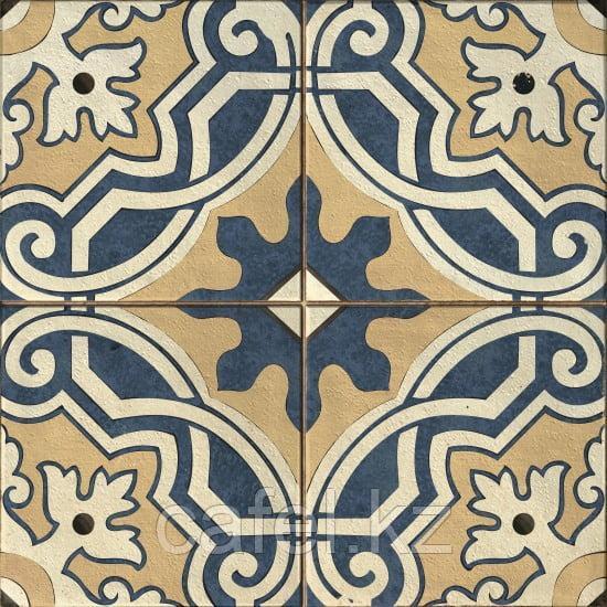 Керамогранит 42х42 - Севилья  | Seville многоцветный с узорами