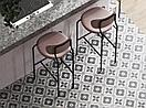 Керамогранит 42х42 - Севилья  | Seville серый с узорами, фото 4