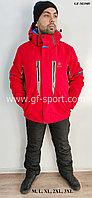 Мужской горнолыжный костюм Salomon (красный)