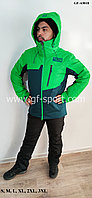 Мужской горнолыжный костюм Running River (зеленый)