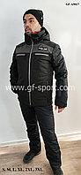 Мужской горнолыжный костюм Running River (черный)