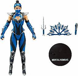 Mortal Kombat Коллекционная фигурка Китана, Эдемский синий