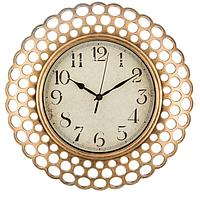Часы настенные кварцевые italian style 39*39*5 см диаметр циферблата