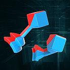 Профессиональный Кубик Рубика 6 на 6 Moyu MeiLong в цветном пластике, фото 4